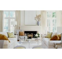 Дизайн интерьера гостиной во французском стиле
